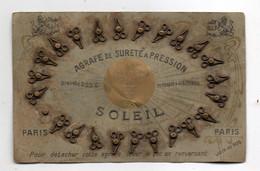 Agraphe De Sureté A Pression. Soleil.  Carton Avec 24 Agraphes. - Zonder Classificatie