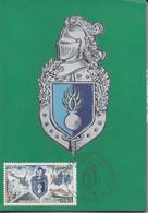 Carte Maximum Gendarmerie Nationale 1970 Premier Jour Carte Philatélique - 1960-69
