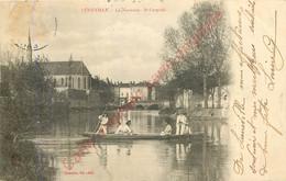 54.  LUNEVILLE .  La Vezouzes .  St-Léopold . - Luneville
