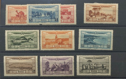 MAROC. 1928. Avions 12/21 *. Cote 65,-€ - Poste Aérienne
