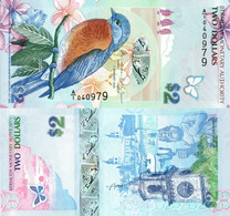 Bermuda / 2 Dollars / 2009 / P-57(b) / UNC - Bermudas