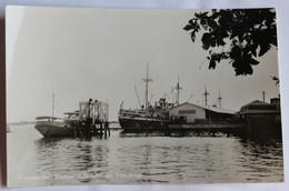 CPSM Rare Qualité Photo Suriname Steiger KNSM En Veerbrug Port Bateaux SURINAM - Surinam