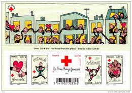 France BF N° F 4699 ** Croix-Rouge 2012 - Les Valeurs - Générosité, Entraide, Solidarité, Chaleur - Neufs
