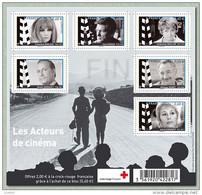 France BF N° F 4690 ** Bloc - Les Acteurs De Cinéma - Croix Rouge - Neufs