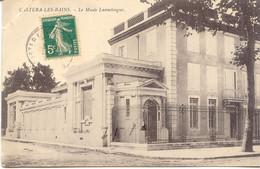 CPA - CASTERA LES BAINS - MUSEE LANNELONGUE - Castera