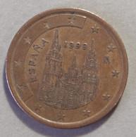 1999 - SPAGNA - MONETA IN EURO - VALORE  5  CENTESIMI - CIRCOLANTE - Spanien