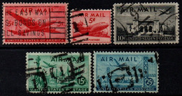 USA 1946-47, Scott C32-C35, Air Mail - 2a. 1941-1960 Gebraucht