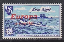 Europa-Island-Herm 1961 ** / Xz406 - Ongebruikt