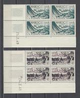 MAROC.  YT  PA N° 70/73  Neuf **  1949 - Poste Aérienne