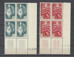 MAROC.  YT   N° 288/291  Neuf **  1950 - Neufs