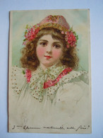 Fillette Avec Bonnet Meisje Met Muts Circulée 1900 - Portraits