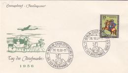 Berlin FDC 1956 - Nr. 158 - Tag Der Briefmarke - FDC: Enveloppes
