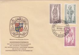 Berlin FDC 1955 - Nr. 132-34 - 25 Jahre Bistum Berlin - FDC: Enveloppes