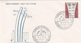 Berlin FDC 1959 Nr. 188 - 10. Jahrestag Beendigung Luftbrücke Berlin - FDC: Enveloppes