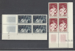 MAROC.  YT   N° 339/342  Neuf **  1955 - Neufs