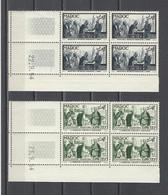 MAROC.  YT   N° 335/338  Neuf **  1954 - Neufs