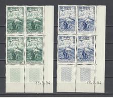 MAROC.  YT   PA N° 98/99   Neuf **  1954 - Poste Aérienne