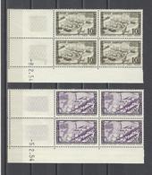MAROC.  YT   PA N° 94/97   Neuf **  1954 - Poste Aérienne
