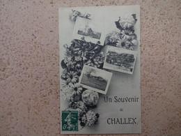 CPA 01 Un Souvenir De CHALLEX - Altri Comuni