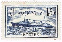 France, N°299 Paquebot Normandie - Neufs