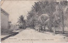 1176 MAJUNGA - VUE SUR LA RUE DES FILAOS - Madagascar