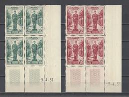 MAROC.  YT  N° 299/301   Neuf **  1951 - Neufs