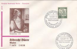 Berlin FDC 1961 -Nr.  202 - Dauerserie Albrecht Dürer - FDC: Buste
