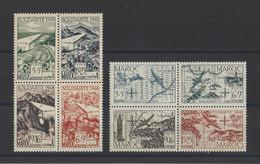 MAROC.  YT  PA N° 70/73  75/78  Neuf **  1949-50 - Poste Aérienne