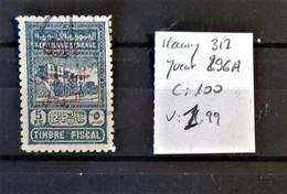 03 - 21 / Syrie Maury N°317 - Yvert N° 296A - Beau - TB - Cote : 100 Euros - Oblitérés