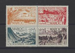 MAROC.  YT   N° 271/274   Neuf **  1949 - Neufs