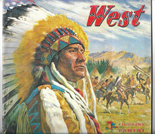 WEST - Album PANINI Incomplet- 271 Manquantes Sur 400 - Western - Indiens D'Amérique - Ouest Américain - - Andere