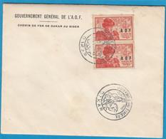 JOURNEE DU TIMBRE 1945 , DAKAR. - Lettres & Documents