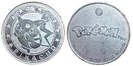 01135 GETTONE TOKEN JETON FICHA NINTENDO WIZARD POKEMON PIKACHOU 2000 - Unclassified