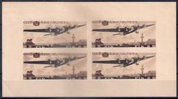 Russia 1937, Michel S/sheet Nr 3, MLH OG, But - Ungebraucht
