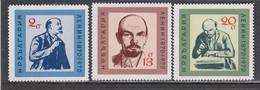 Bulgaria 1970 - 100th Birthday Of LENIN, MNH** - Neufs