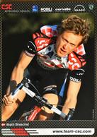 Postcard - Matti Breschel - Team CSC - 2006 - Wielrennen