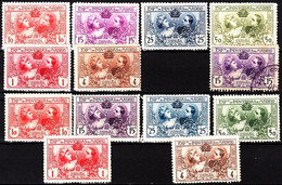 SPAIN 1907 Industrial Exposition. Original And Re-print Complete Sets. Mint / MNH - Neufs