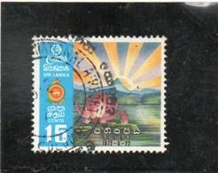 SRI  LANKA   1972  Y.T. N° 443  Oblitéré - Sri Lanka (Ceylan) (1948-...)
