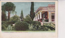 GREECE - Corfu - Archilleion (Villa Imperiale) Le Jardin - Unused Undivided Rear - Grèce