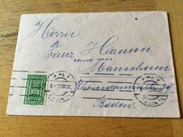 K17 Österreich 1922 Brief Von Wien Nach Mannheim - Lettres & Documents