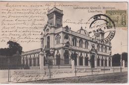 PERU - Laboratorio Quimico Municipal Lima-Peru - Excellent Postmarks Etc, Including USA - Perù