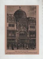 Au Bon Marché Paris 1901 Entrée Des Magasins Inspecteur Interprète Douce Prévenance Marcel Capy - Zonder Classificatie