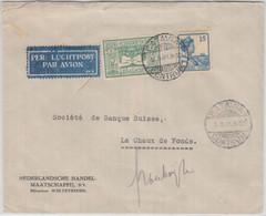 Niederl. Indien - 75 C. Luchtpost U.a. Luftpostbrief I.d. SCHWEIZ Batavia 1931 - Sin Clasificación