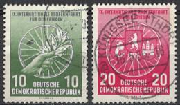 DDR 1956. Mi.Nr. 521-522, Used O - Oblitérés