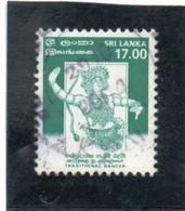 SRI  LANKA   1999  Y.T. N° 1166  à  1175  Incomplet  Oblitéré  1174 - Sri Lanka (Ceylan) (1948-...)
