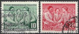 DDR 1955. Mi.Nr. 450-451, Used O - Oblitérés
