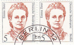 Berlin 1989 - Nr. 833 - Dauerserie Frauen Der Deutschen Geschichte Gstempelt - E Ihrer - Oblitérés