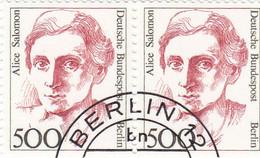 Berlin 1989 - Nr. 830 - Dauerserie Frauen Der Deutschen Geschichte Gstempelt - A Salomon - Oblitérés