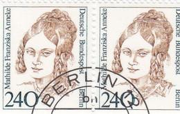 Berlin 1988 - Nr. 827 - Dauerserie Frauen Der Deutschen Geschichte Gstempelt - M F Anneke - Oblitérés