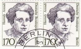 Berlin 1988 - Nr. 826 - Dauerserie Frauen Der Deutschen Geschichte Gstempelt - H Arendt - Oblitérés
